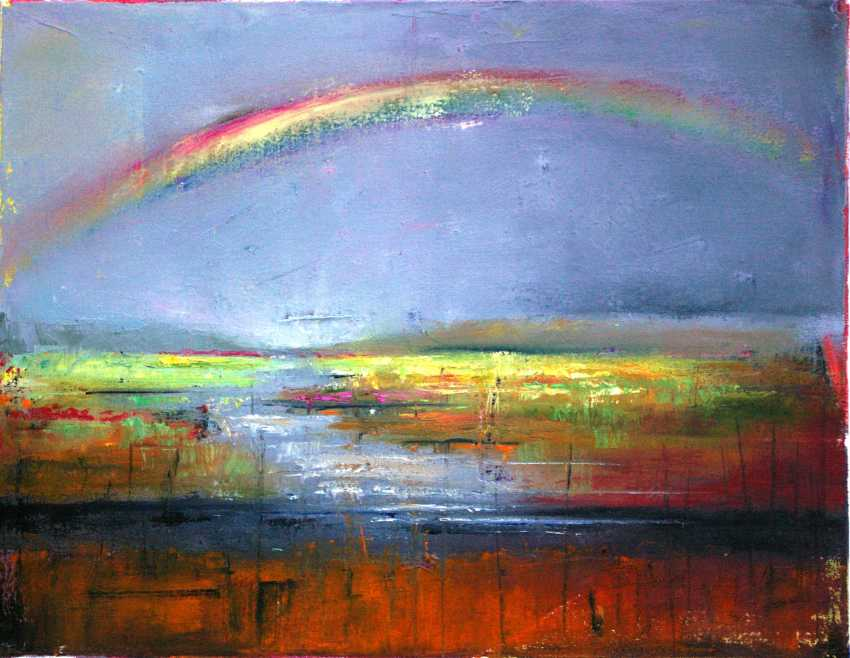 Nataliia Bahatska. Rainbow over the river - photo 1