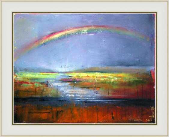 Nataliia Bahatska. Rainbow over the river - photo 2