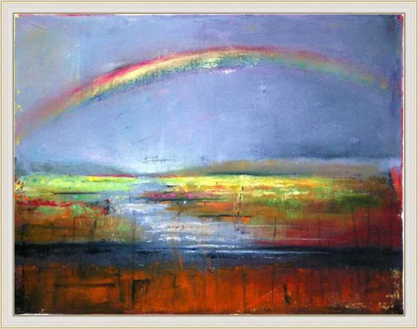 Nataliia Bahatska. Rainbow over the river - photo 3