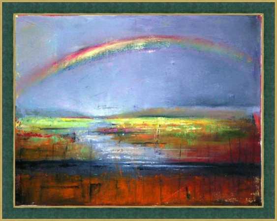 Nataliia Bahatska. Rainbow over the river - photo 4