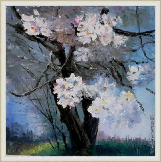 Nataliia Bahatska. The tree flowering. - photo 3