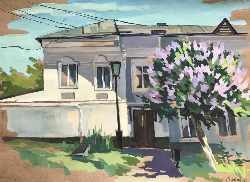 Olga Gileva. «Le lilas fleurit.Зарайск.» - photo 1