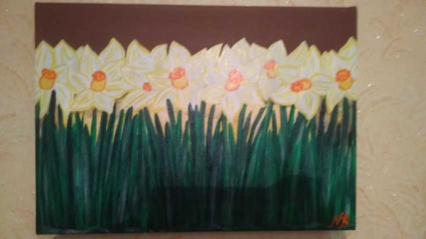 Nataliya Kutikhina (Bronstein). The Daffodils - photo 1