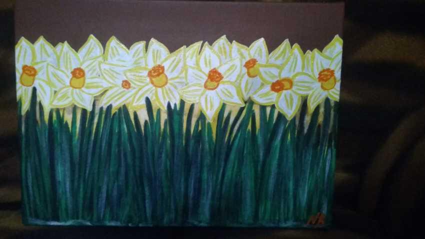 Nataliya Kutikhina (Bronstein). The Daffodils - photo 2