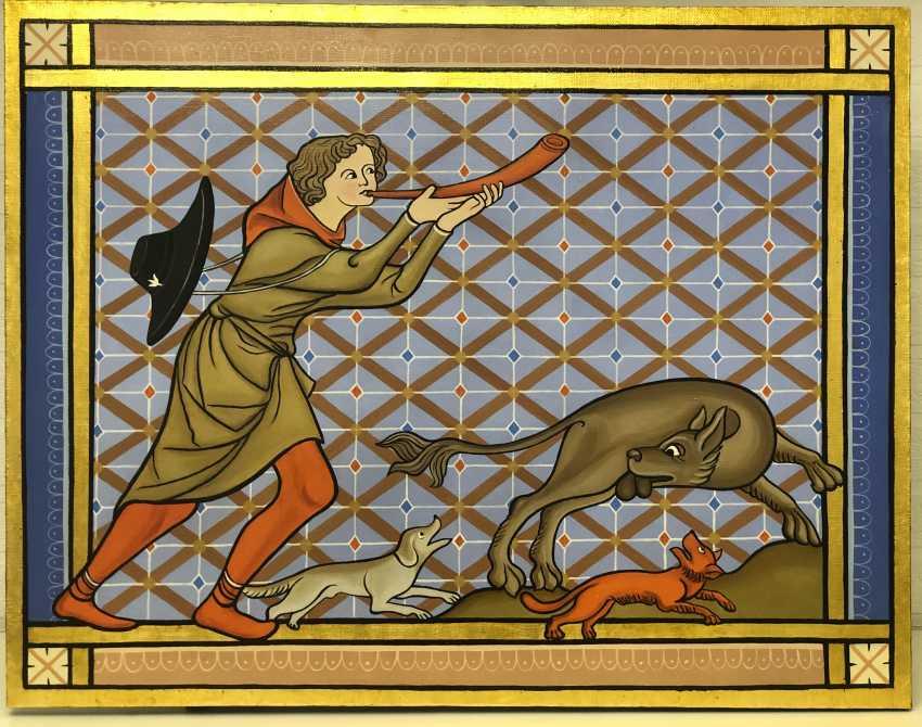 Natalia Kadolina. Hunter and beaver - photo 1