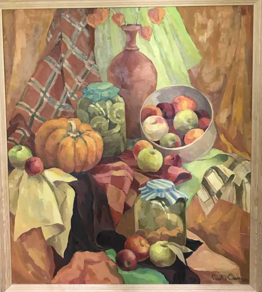 """Olga Gileva. """"Autumn still life"""" - photo 1"""