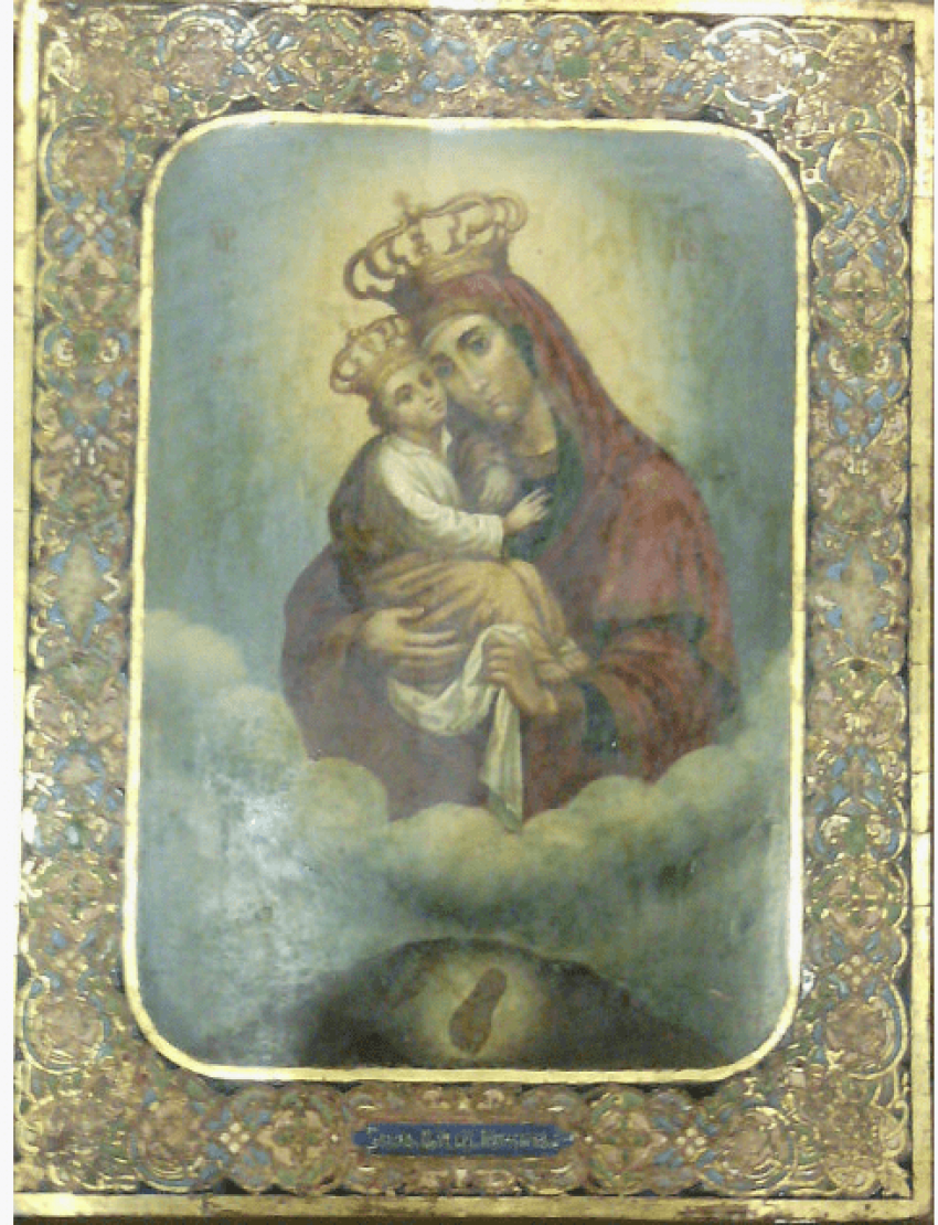 The Pochaev icon of the blessed virgin Mary 19th century - photo 1