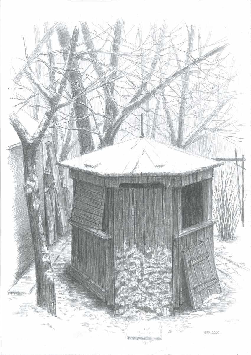 Yuri Kalashnikov. Late winter garden - photo 1