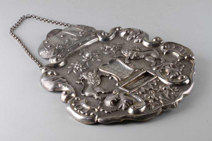 TAS. Shield for Torah. Austria, lane. Of the 19th century. - photo 1