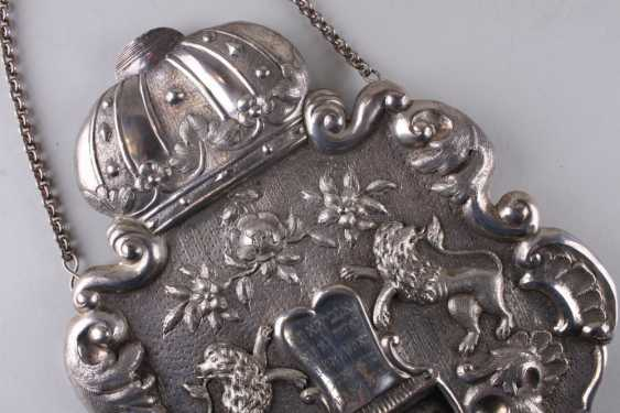 TAS. Shield for Torah. Austria, lane. Of the 19th century. - photo 2