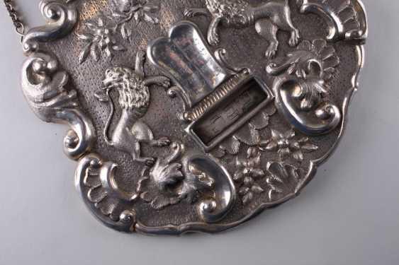TAS. Shield for Torah. Austria, lane. Of the 19th century. - photo 3