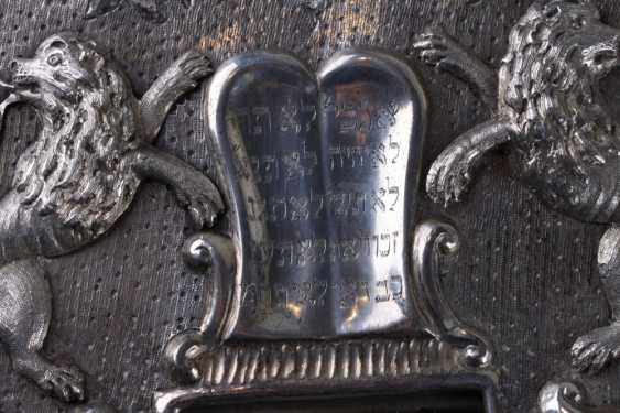 TAS. Shield for Torah. Austria, lane. Of the 19th century. - photo 6