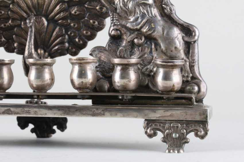 Chanukah candlestick, 84 sample - photo 4