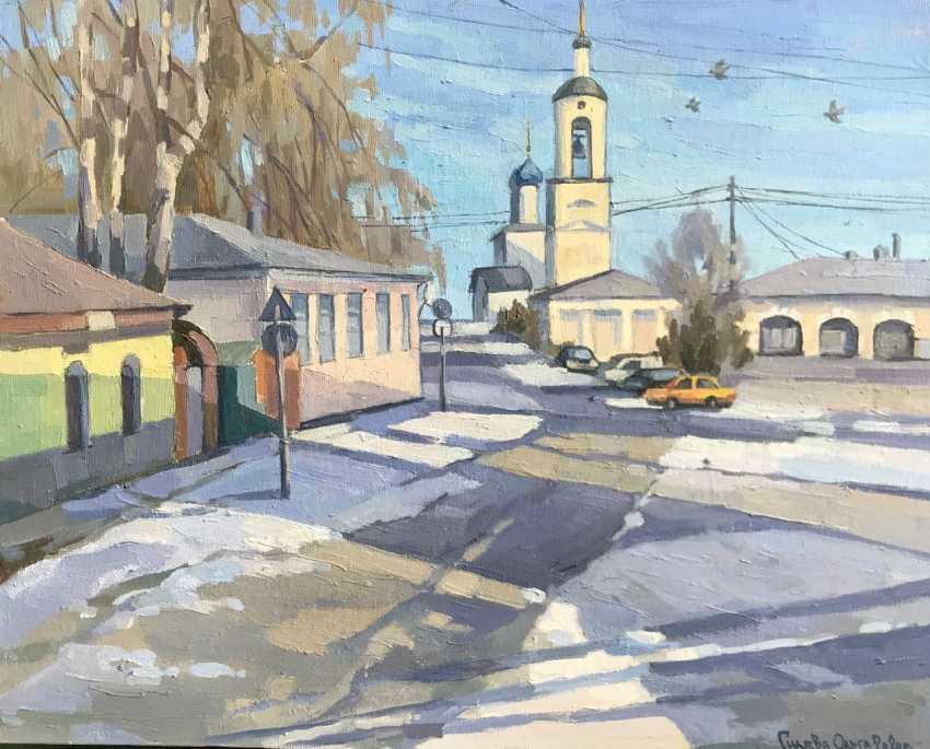 "Olga Gileva. ""February day. Borovsk."" - photo 1"