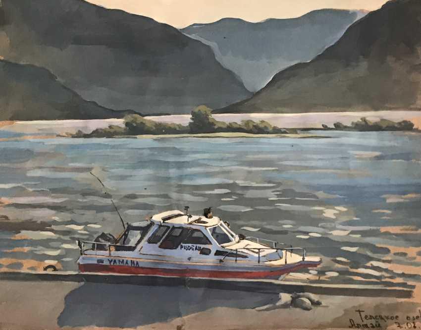 """Olga Gileva. """"At lake Teletskoye. Altai"""" - photo 1"""