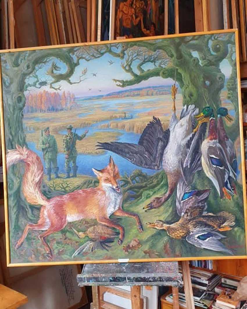 "Leonid Litvin. ""Deer hunt"" - photo 1"