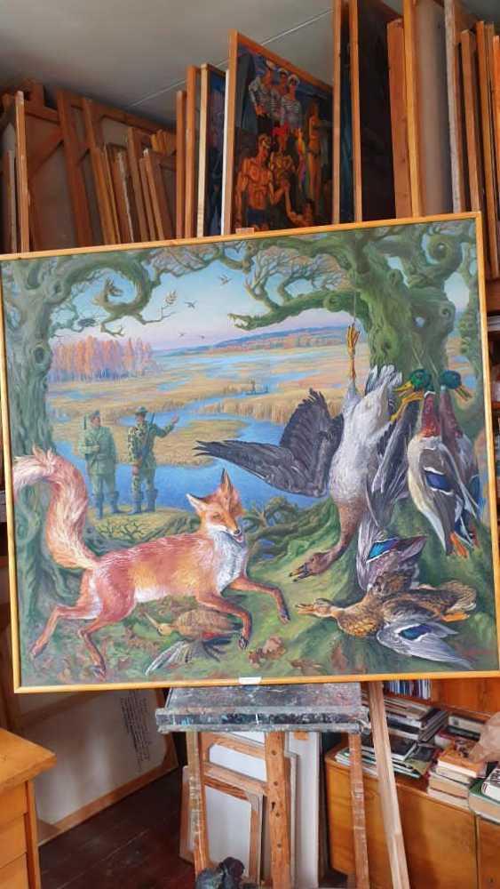 "Leonid Litvin. ""Deer hunt"" - photo 2"