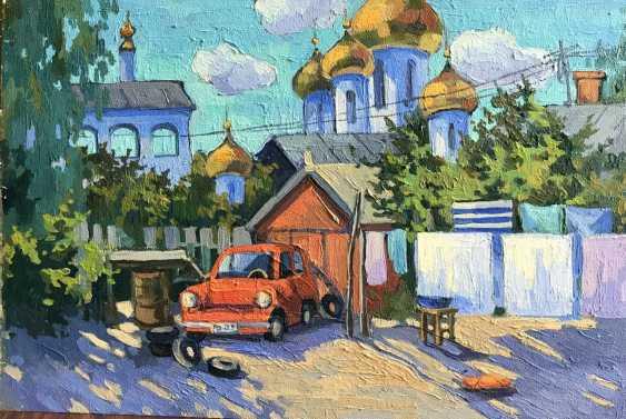 "Olga Gileva. ""Old courtyard. Uglich"" - photo 1"