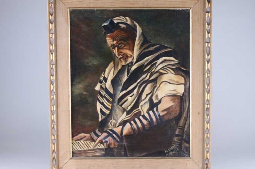 """The picture of the """"Rabbi in prayer garb"""", 1956 - photo 1"""