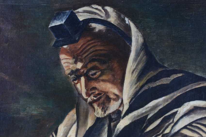 """The picture of the """"Rabbi in prayer garb"""", 1956 - photo 2"""