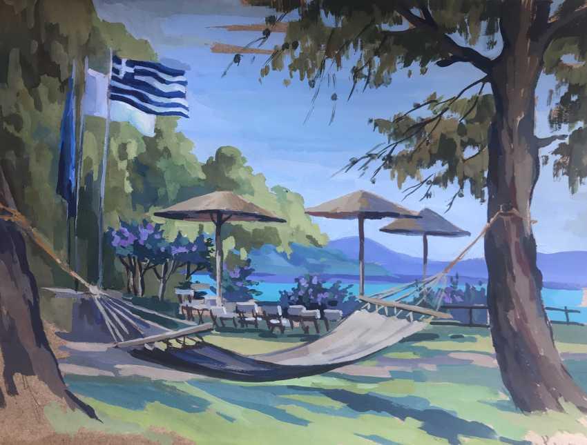 "Olga Gileva. ""Greece. Attica ."" - photo 1"