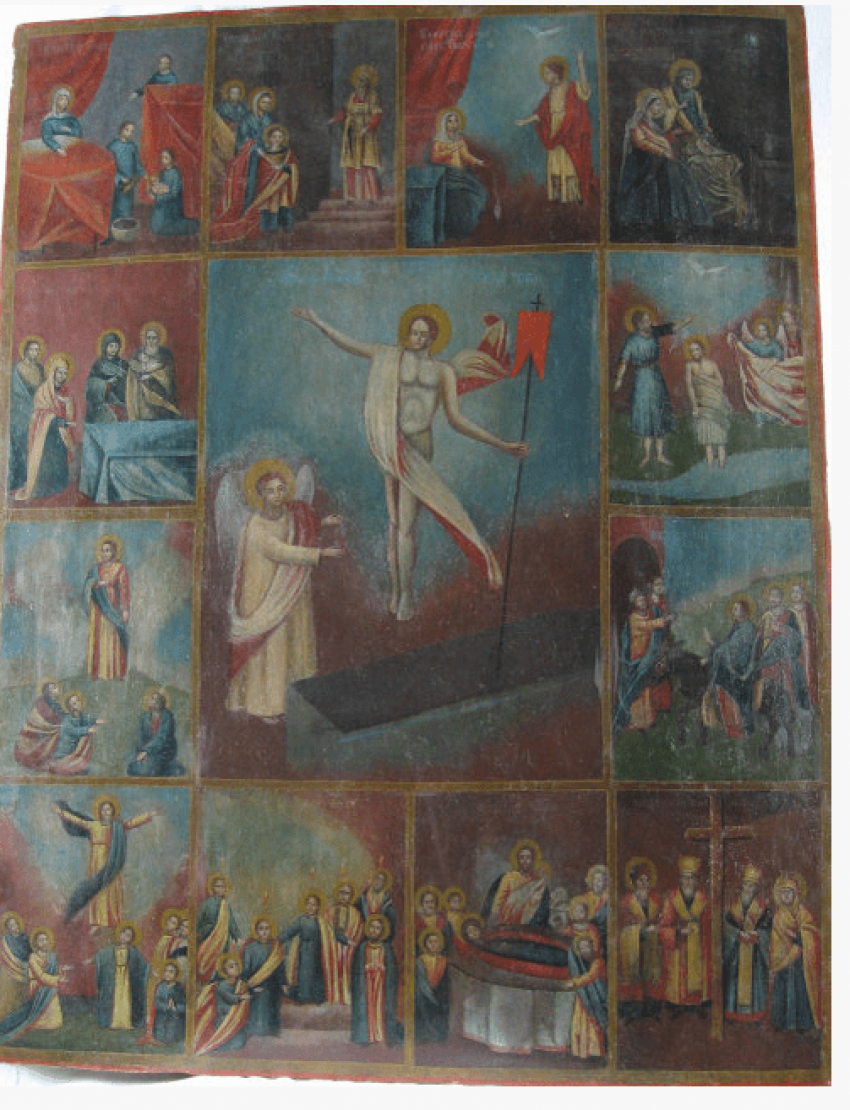 The Icon Of The Resurrection Of Jesus Christ - photo 1