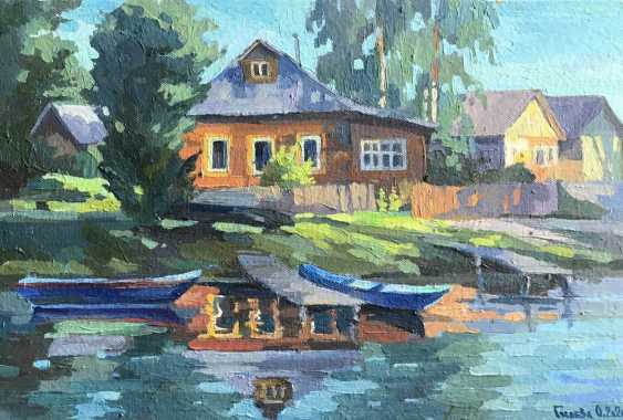 "Olga Gileva. ""Evening on the river Trubezh"" - photo 1"