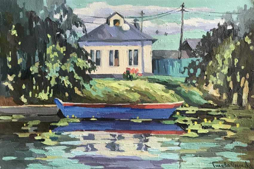 "Olga Gileva. ""House by the river. Pereslavl-Zalessky"" - photo 1"