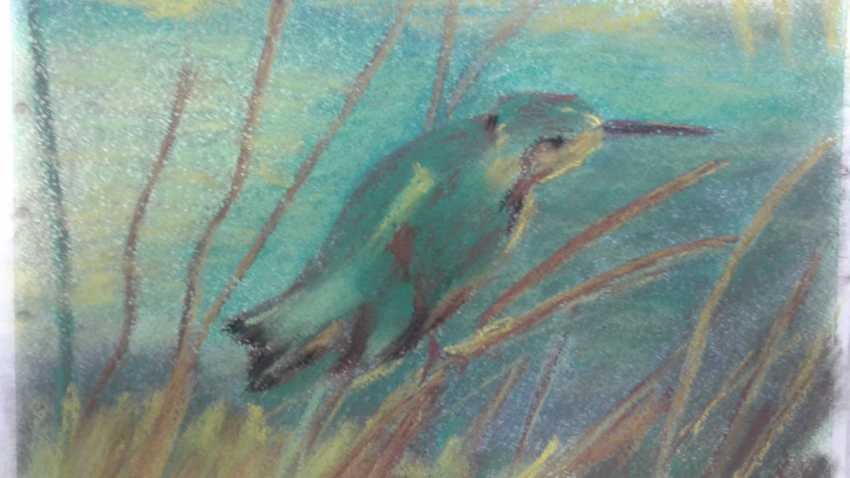 Aleksei Roshchanovskii. Kingfisher (Based on the work of Vincent Van Gogh, Kingfish) - photo 1