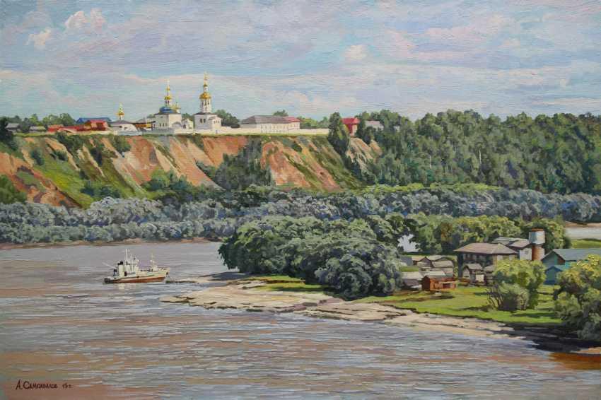 """Alexander Samokhvalov. """"On The Irtysh"""" - photo 1"""
