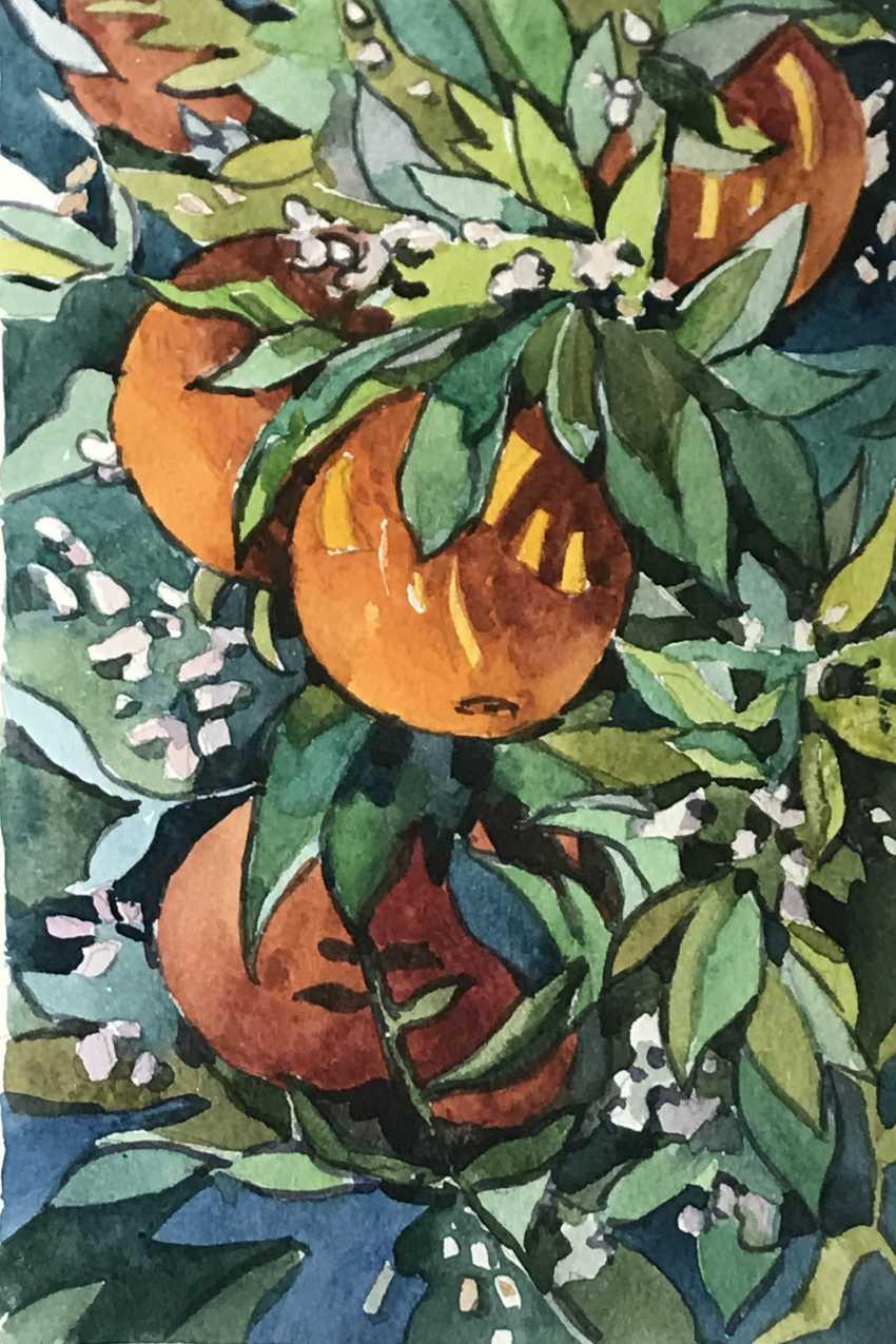 "Olga Gileva. ""Oranges"" - photo 1"