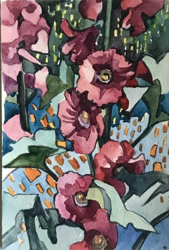 "Olga Gileva. ""Flowers"" - photo 1"