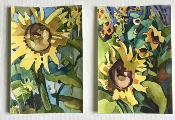 "Olga Gileva. ""Sunflower"" - photo 2"
