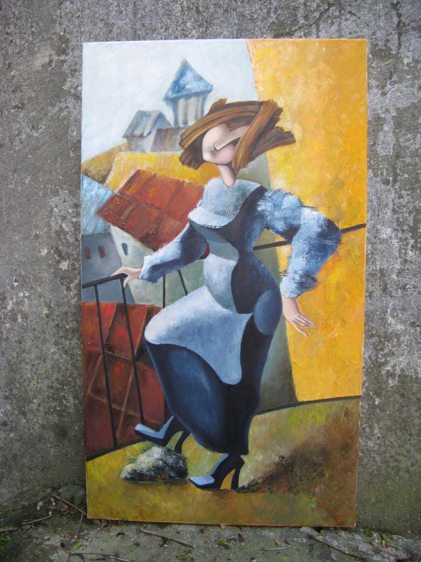 "Olga Vasilchenko. ""Ms. Luba on the balcony"" - photo 2"