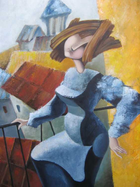 "Olga Vasilchenko. ""Ms. Luba on the balcony"" - photo 3"