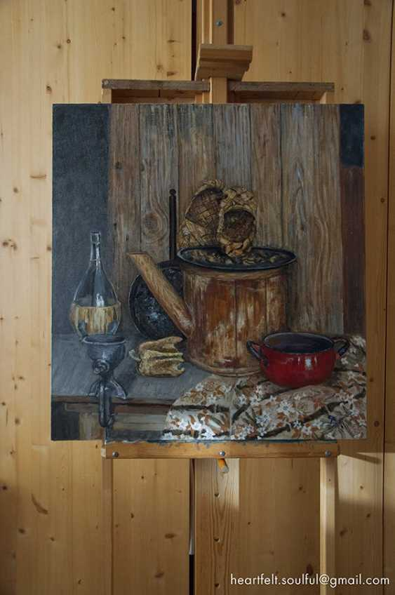 Sofiiya Lihatskaya. Still life with grinder - photo 2