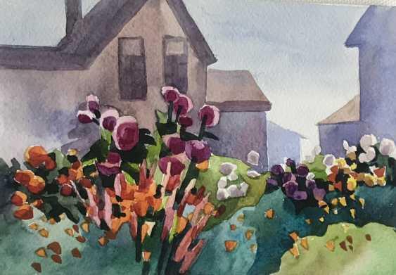 Olga Gileva. «Im Garten» - Foto 1