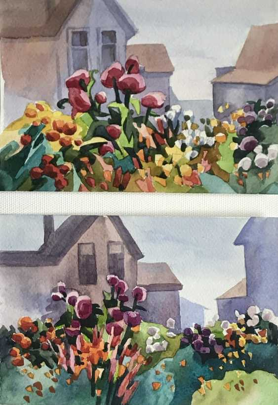 Olga Gileva. «Im Garten» - Foto 2