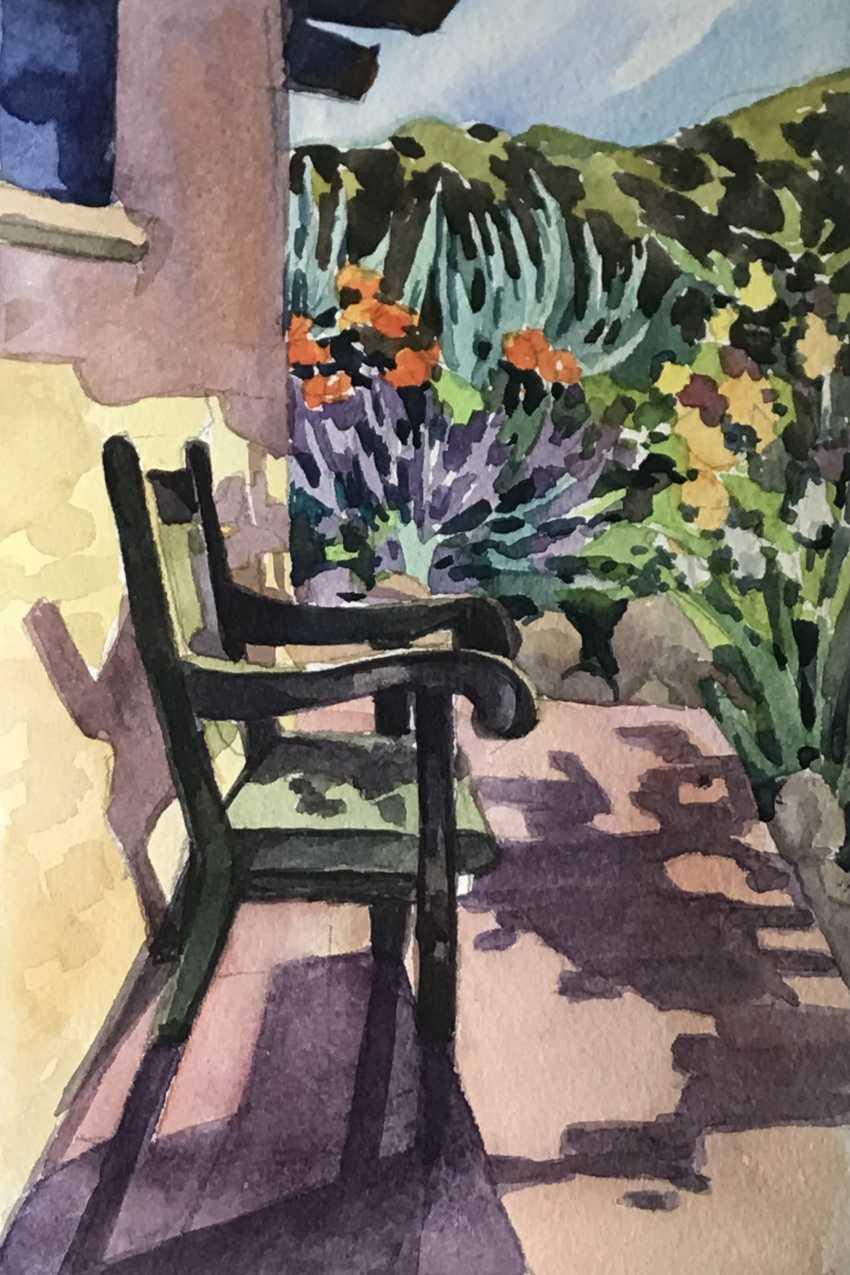 """Olga Gileva. """"On the veranda"""" - photo 1"""