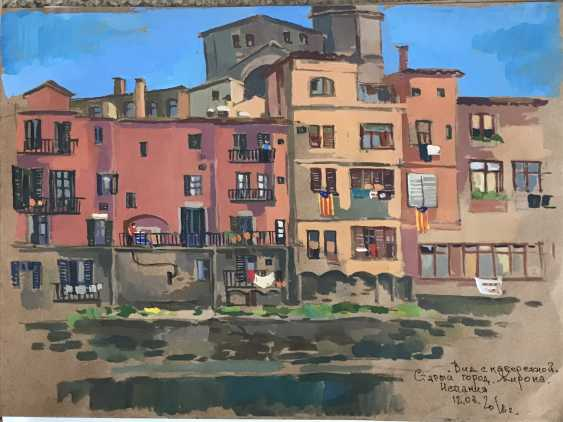 "Olga Gileva. ""The Waterfront Of Girona. Spain"" - photo 1"