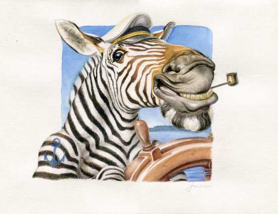 Alexey Fomin. Zebra - photo 1