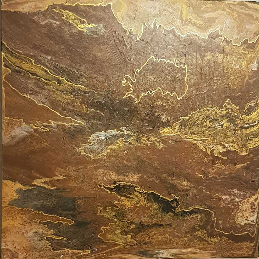 Nikol Lemarie. Rock painting - photo 2