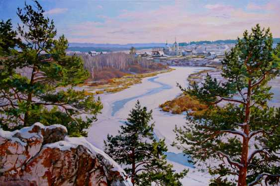 "Alexander Samokhvalov. ""Frost and pine"" - photo 1"