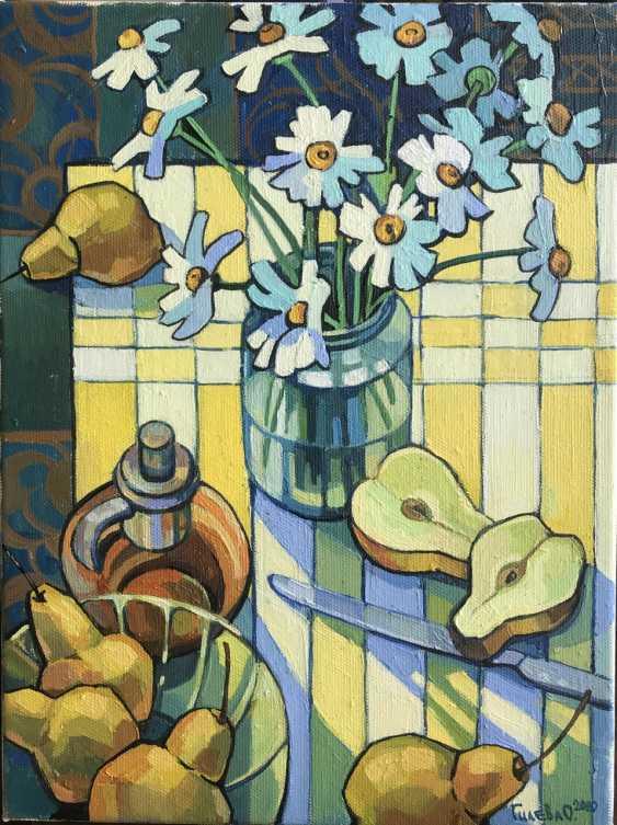 """Olga Gileva. """"The sun, pear and chamomile"""" - photo 1"""