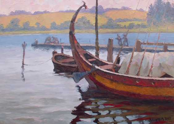 Anatolij Speka. Boat of the Vikings in Doverodde - photo 1