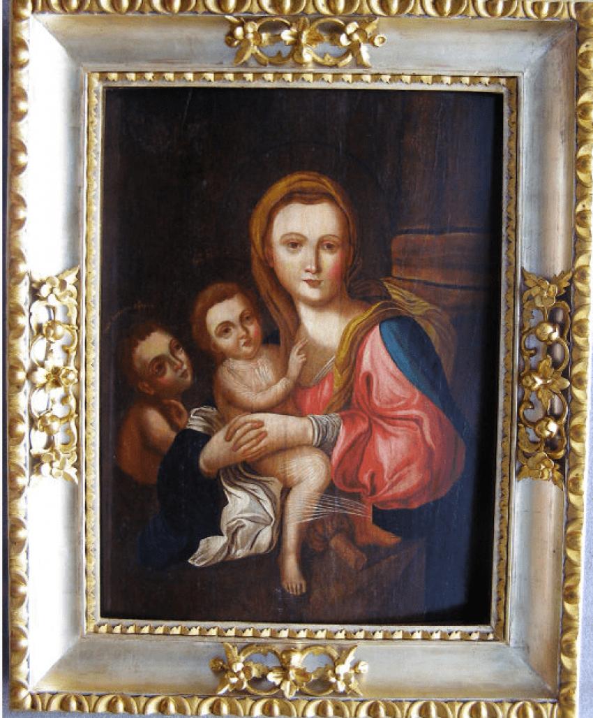 The icon of the virgin Hodegetria con. Of the 18th century. - photo 2