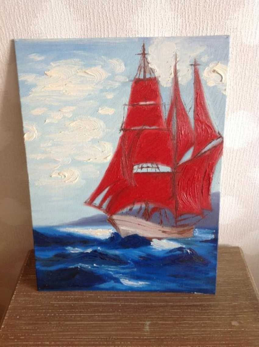Victor Kuznetsov. Scarlet Sails - photo 1