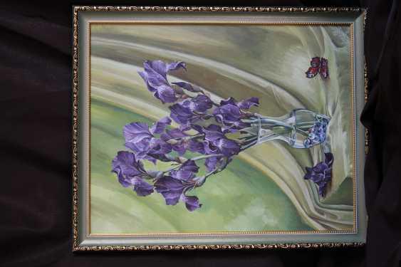 "Lyubov Kamaeva. ""Irises"" - photo 1"