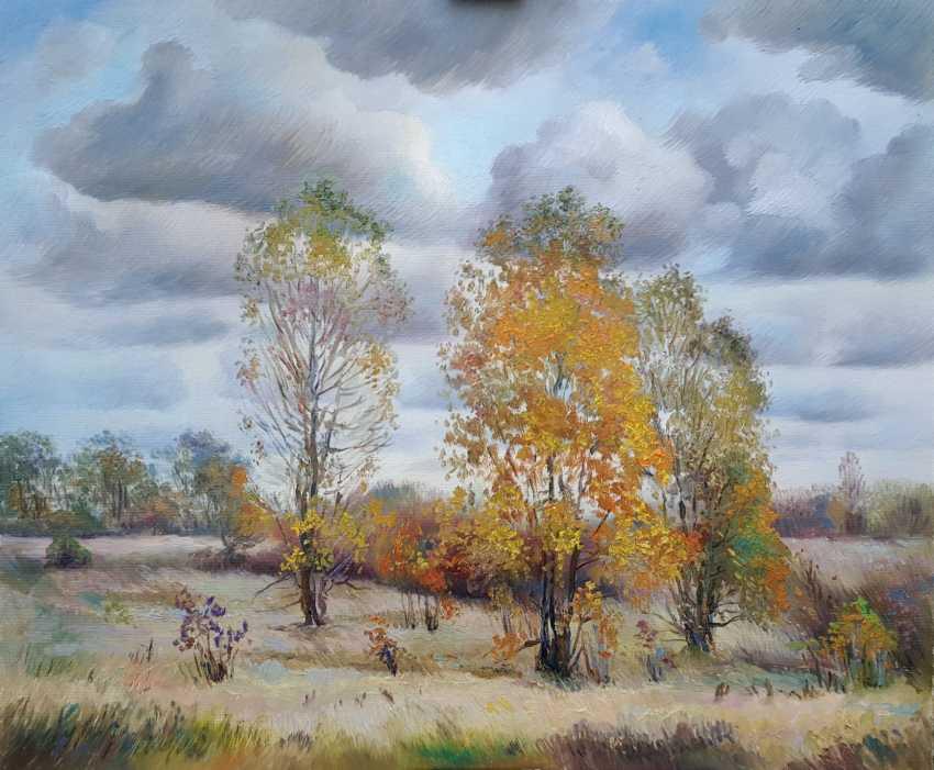 Bohdan Yermakov. Three poplars - photo 1