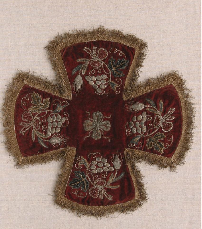 The shroud Pokrivtsi 18th century - photo 2
